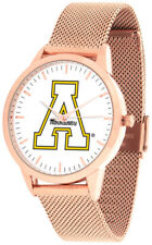 Appalachian State Mountaineers Women Mesh Statement Rose Pink Watch