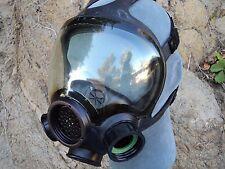 MSA Advantage1000 Gas Mask w New Filter, 40mm NATO Filter Adapter,#813859 MEDIUM