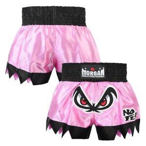Muay Thai Kick Boxing Womens Fearless Shorts - Morgan Sports **FREE DELIVERY**