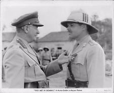 "Clark Gable & Reginald Owen in ""They Met in Bombay"" 1941 Vintage Movie Still"
