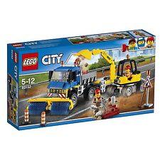 Lego 60152 Barredora y excavadora