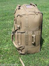 Force Protector Gear USMC Deployer 75 USGI Rolling Deployment Bag Coyote Brown
