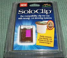 SOLOCLIP - Converts Keurig 2.0 to use any brand K-cup -Metal NOT Plastic- NEW !