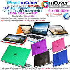 "NEW mCover® Hard Case for 2016 11.6"" Dell Inspiron 11 3168 3169 P25T 2in1 laptop"