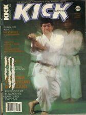 KICK ILLUSTRATED Magazine March 1982 3/82 ISSHIN-RYU MASTER TERUYUKI OKAZAKI