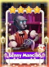 Coin Master cards carte rare Molto Alta Lenny Mancino