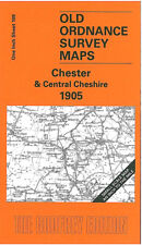 OLD ONE INCH MAP CHESTER TATTENHALL NORTHWICH EATON CENTRAL CHESHIRE 1905