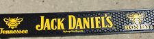Jack Daniels Tennessee Honey BLACK YELLOW Rubber Bar Mat Drip Spill BRAND NEW **