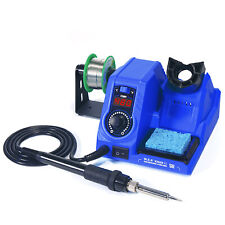 Usa 110v Smd Rework Soldering Station Iron Kit Welding Tool Digital Led Display