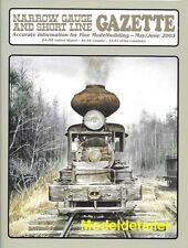 Narrow Gauge Gazette May 03 Wooden Water Car D&RGW Cambell Kits Log Loader Shack