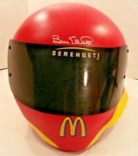NASCAR Racing Bill Elliot Serengeti McDonald Coke Good Yr Advertise Helmet Globe