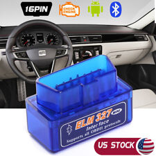 Bluetooth ELM327 V1.5 OBDII Car Diagnostic Tool OBD2 Code Scanner Android Torque
