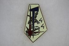 French Signals T 44 Badge Pin G2308 Ballard 77 Combs La Ville 108