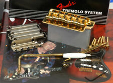 Fender Vintage Strat Tremolo Bridge System, Gold, Left Handed, 0992049202