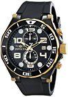Invicta Men's 15396 Pro Diver Chronograph 50mm Black Dial Black-PVD & Gold Watch