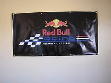 Formula 1 RedBull Racing PVC Vinyl Plastic Banner Flag 1500x1000mm Sign