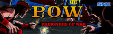 "Pow Prisoners of War Arcade Marquee 26"" x 8"""