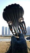 3D 15m Black 1 Line Stunt Parafoil Octopus POWER Sport Kite outdoor toy freeship