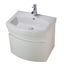Vanity Unit Cabinet Basin Sink Wall Hung Mounted Bathroom 700 mm Tap | WHR70