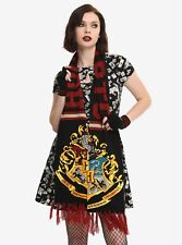 Harry Potter Hogwarts Crest Scarf School Pride Winter Wear Wrap NWT