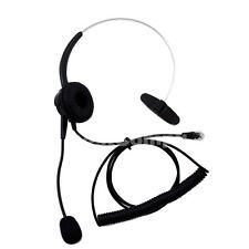Replacement Headset For Plantronics / Plt S10 S50 T50 T100 Telephones Black Rj-9