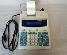Victor 1225-2 Printing Calculator Tested Works