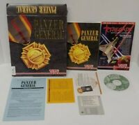 Panzer General BIG BOX PC Game  IBM CD-ROM Mint Disc Complete works perfectly