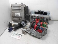 Kit Chiave ECU Fiat Punto 188 Restyling 1.3 Mjet 70cv 188A9000 2004 55186608