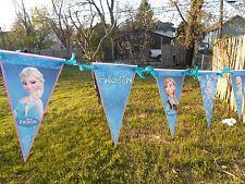 Disney's FROZEN garland /bunting/ Banner Decoration Birthday Party Supplie 20 ft