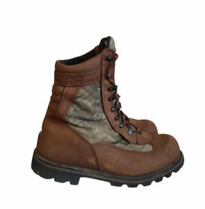 ROCKY Deer Stalker II 1000 Gram Hunting Camo BOOTS - 9081 - Men's SZ 13 W Vibram