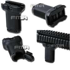 AIRSOFT FMA WEAVER 20MM SHORT BK TB1069 FMA Bravo Fore Grip For 20mm Rail BK