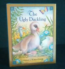 THE UGLY DUCKLING, ANDERSEN, GREENWAY, ROBYN OFFICER, 1992, HCDJ, ARIEL BOOKS