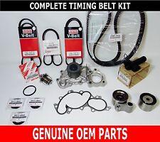 Genuine Toyota Oem 3.4 Liter 5Vzfe V6 Complete 17 pcs Timing Belt & Pump Kit