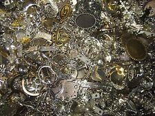 Bastelset Metallteile-Ohrhänger-Anhänger-Charm,Perlenkappen-Bettelarmband 100g