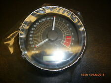 "Harley Davidson Speedo/Tach, 4"", MPH, Black, FX - Dyna Models - 74735-09"