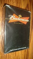 Collectable Budweiser Beer Playing Cards Poker Size Cards #1 Deck Cards
