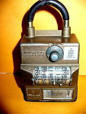 VINTAGE MULTACC REAL ESTATE LOCK BOX ....NO KEY...price reduced for quick sale