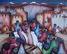 """Amado Pena Mini Prints """"DANZA DE LOS ARTESANOS"""" 1985 (7540) Signed b4 print 8x10"""