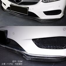 Carbon Front Bumper Body Skirt Protector Sticker For Hyundai LF Sonata 2015+