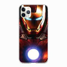 Iron Man Superhero soft case cover for iPhone Samsung Galaxy HTC phones
