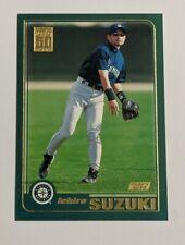 2001 Topps Ichiro Suzuki #726 Rookie Seattle Mariners HOF
