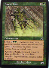 CACHE BOIS - CREATURE ELFE - VF CARTE MTG MAGIC
