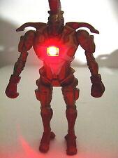 NEW LIGHT UP Real Steel figures Twin Midas Zeus Noisy Boy Atom Six shooter Metro