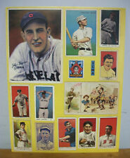 Early 1970s TCMA Tobacco & Candy Card Proof Sheet