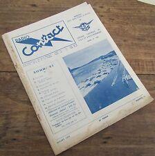 RADIO CONTACT NUMERO 22 JUILLET 1953