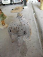 "Unusual Vintage Camel Figurine 4"" Tall"