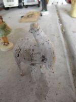 """Unusual Vintage Camel Figurine 4"""" Tall"""
