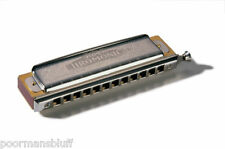 HOHNER SUPER CHROMONICA 270BL-B CHROMATIC HARMONICA KEY OF B + BONUS