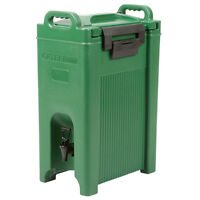5 Gallon Green Insulated Hot Cold Catering Beverage Drink Dispenser Coffee Tea