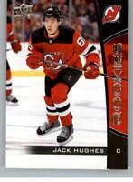 2019-20 UD NHL Rookie Box Set #1 Jack Hughes New Jersey Devils Hockey Card
